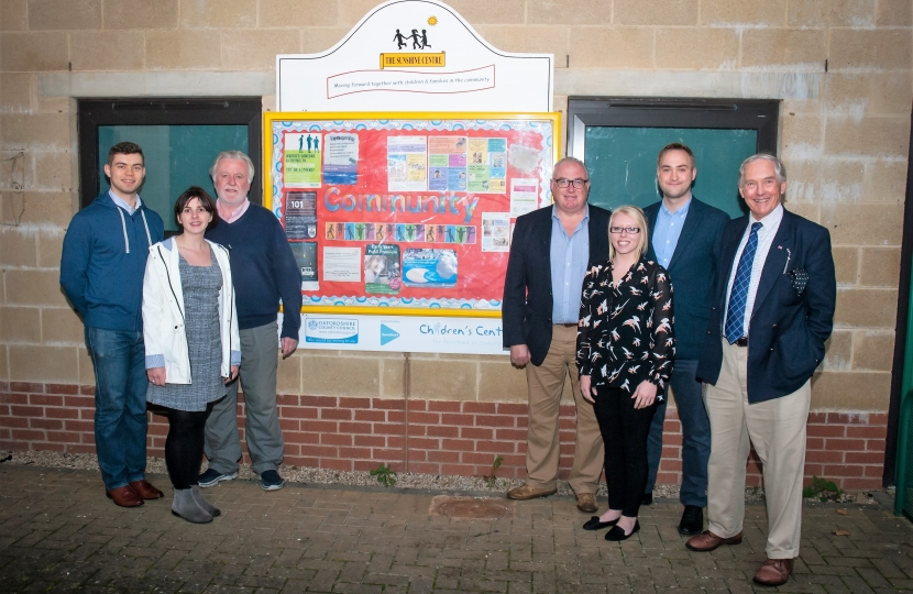 Banbury Conservatives at the sunshine centre