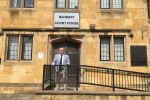 Leader of the Town Council Kieron Mallon at Banbury Magistrates Court